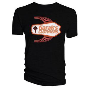 [Star Trek: Deep Space Nine: T-Shirt: Garak's Clothiers (Black) (Product Image)]
