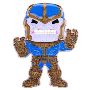 [Marvel: Loungefly Large Enamel Pop! Pin: Thanos (Product Image)]