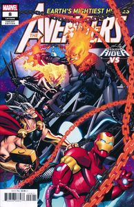 [Avengers #8 (McKone Cosmic Ghost Rider Variant) (Product Image)]