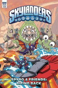 [Skylanders: Quarterly Spyro & Friends Biting Back (Cover B) (Product Image)]