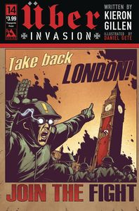 [Uber: Invasion #14 (Propaganda Poster Cover) (Product Image)]