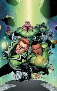 [Green Lantern Corps: Volume 1: Fearsome (Titan Edition - Hardcover) (Product Image)]