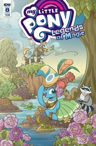 [My Little Pony: Legends Of Magic #8 (Cover B Hickey) (Product Image)]