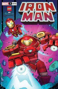 [Iron Man #4 (Ron Lim Lego Variant) (Product Image)]