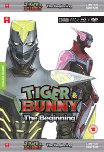 [Tiger & Bunny: The Beginning Collector's Edition (Blu-Ray/DVD) (Product Image)]