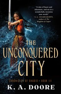 [Chronicles Of Ghadid: Book 3: The Unconquered City (Product Image)]