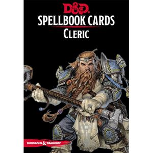 [Dungeons & Dragons: Spellbook Cards: Cleric (Product Image)]