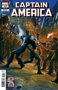 [Captain America #12 (Alex Ross Marvels 25th Variant) (Product Image)]