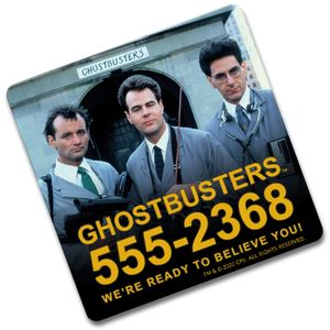 [Ghostbusters: Coaster: We're Ready To Believe You! (Product Image)]