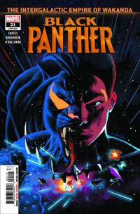 [The cover for Black Panther #21]