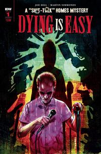 [The cover for Dying Is Easy #1 (Cover A Simmonds)]