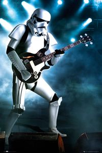 [Star Wars: Poster: Stormtrooper Rocks (Product Image)]