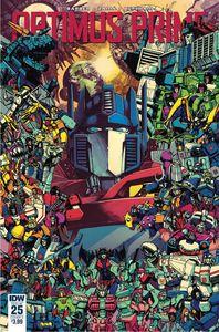 [Optimus Prime #25 (Cover A - Zama) (Product Image)]