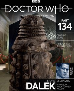 [Doctor Who Figurine Collection #134: Stone Dalek (Product Image)]