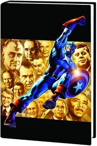 [Captain America: Man Out Of Time (Premiere Edition Hardcover) (Product Image)]