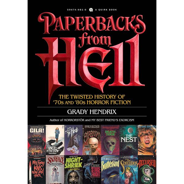 [The cover for Paperbacks From Hell: Horror Fiction From The 70s & 80s (Signed Bookplate Edition)]