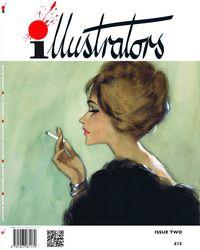 [The cover for Illustrators Magazine #2]