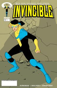 [Invincible #1 (Gold Foil Logo LCSD 2020) (Product Image)]