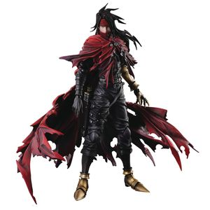 [Final Fantasy 7: Dirge Of Cerberus:  Play Arts Kai Action Figure: Vincent Valentine (Product Image)]