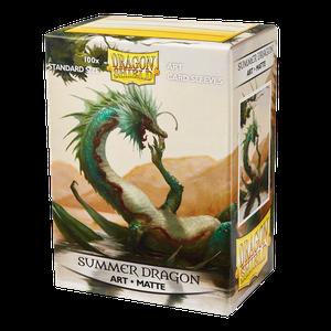 [Matte Art Sleeves: Summer Dragon (100) (Product Image)]