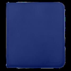 [12 Pocket Zippered Pro Binder: Blue (Product Image)]