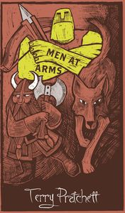 [Men At Arms (Hardcover) (Product Image)]