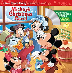 [Mickey's Christmas Carol: Read-Along Storybook & CD (Product Image)]