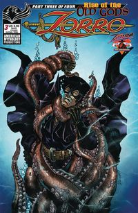 [The cover for Zorro: Rise Of The Old Gods #3 (Cover A Calzada)]