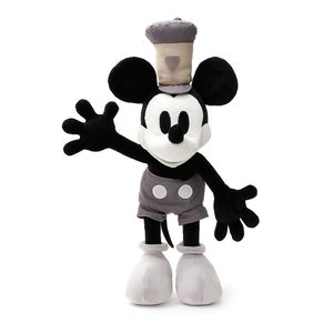 [Disney: 10 Inch Plush: Mickey Mouse 90th Steamboat Willie (Product Image)]