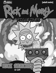 [Rick & Morty: Figurine Collection #1 (Product Image)]