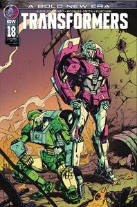 [Transformers #18 (Zama Variant) (Product Image)]