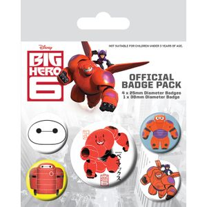 [Big Hero 6: Badge Pack: Baymax (Product Image)]