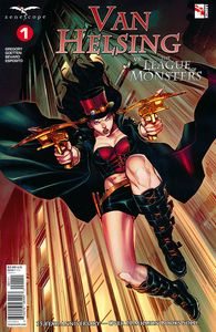 [Van Helsing Vs League Monsters #1 (Cover A Coccolo) (Product Image)]