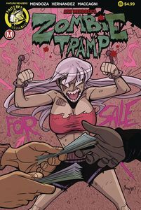 [Zombie Tramp: Ongoing #61 (Cover A Maccagni) (Product Image)]