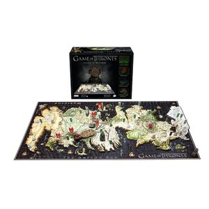[Game Of Thrones: Puzzle: 4D Cityscape: Mini Westeros (Product Image)]