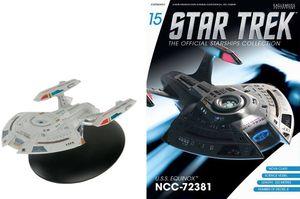 [Star Trek: Starships Figure Collection Magazine #15 USS Equinox NCC-72381 (Nova Class) (Product Image)]