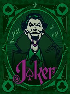 [DC Comics: The Wisdom Of The Joker (Tiny Book Hardcover) (Product Image)]