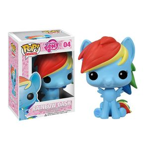 [My Little Pony: Friendship Is Magic: Pop! Vinyl Figure: Rainbow Dash (Product Image)]