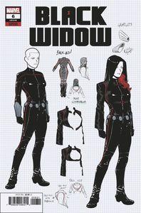 [Black Widow #6 (Casagrande Design Variant) (Product Image)]