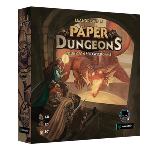[Paper Dungeons: A Dungeon Scrawler Game (Product Image)]