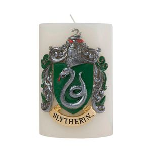 [Harry Potter: Sculpted Insignia Candle: Slytherin (Product Image)]