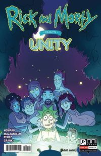 [The cover for Rick & Morty Presents: Unity #1 (Cover A Cannon)]