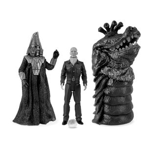 [Doctor Who: Action Figure Set: Enemies Of The 3rd Doctor (Product Image)]