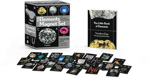 [The Elements Magnet Set: With Complete Periodic Table (Product Image)]
