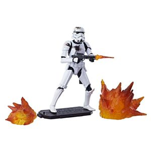 [Star Wars: Black Series Action Figure: Stormtrooper With Blast Accessories (Product Image)]
