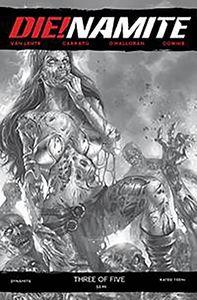 [Die!Namite #3 (Parrillo Black & White Variant) (Product Image)]