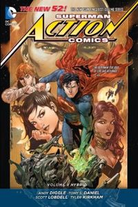 [Superman: Action Comics: Volume 4: Hybrid (Hardcover) (Product Image)]