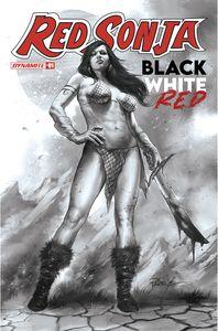 [Red Sonja: Black White Red #1 (Cover K Parrillo Black & White Variant) (Product Image)]