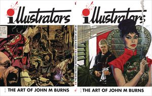 [Illustrators Special #8 (Art Of John M Burns) (Product Image)]
