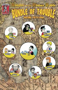 [Knights Of The Dinner Table: Bundle Of Trouble: Volume 54 (Product Image)]